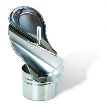 Strażak kominowy fi 200 z łożyskiem zewnętrznym gr. 0,6